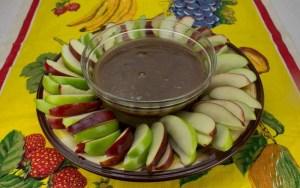 Marijuana Recipes -- Apples with Kushy Caramel Dip