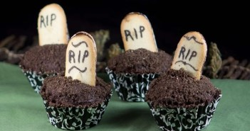 Halloween marijuana Recipes - Death by Chocolate Cupcakes