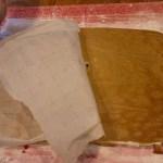 Pumpkin Marijuana Recipes - peel off the parchment paper