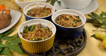 Marijuana Recipes -- Ganjaja Green Bean Casserole
