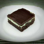 Marijuana Brownie Recipe - Minty Mota Fudge Brownie