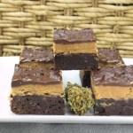 Marijuana Brownies - Peanut Butter Fudge Pot Brownies