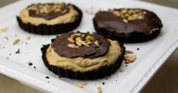 Marijuana Recipes - Chocolate Peanut Butter Tarts