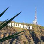 El cartel de Hollywood alterado para dar la bienvenida a la nueva ley de California