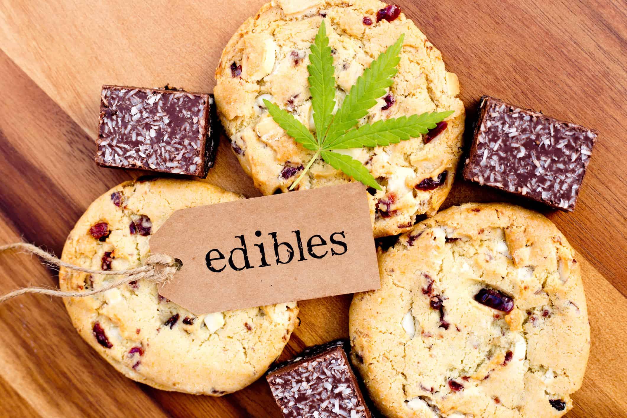 examle of legal cannabis edibles in Canada