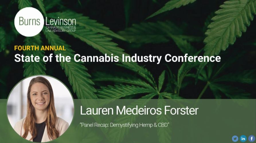 Part 3: Fourth Annual State of the Cannabis Industry Conference – Demystifying Hemp & CBD