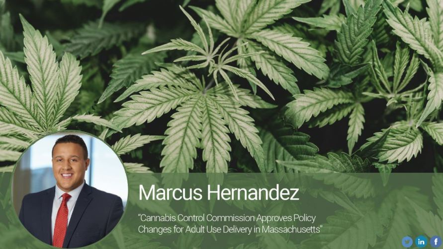 Cannabis Control Commission Approves Policy Changes for Adult Use Delivery in Massachusetts