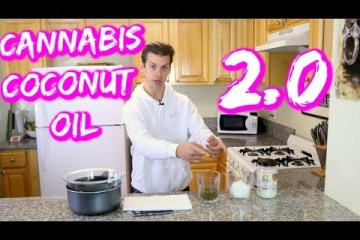 How to Make Cannabis Infused Coconut Oil: Extra Strong Cannabis Infused Coconut Oil