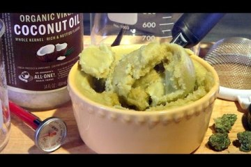 How To Make Cannabis Coconut Oil (Decarboxylated Canna-Oil)
