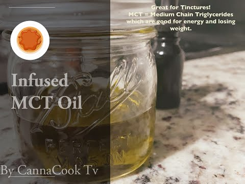 THC Infused MCT Oil
