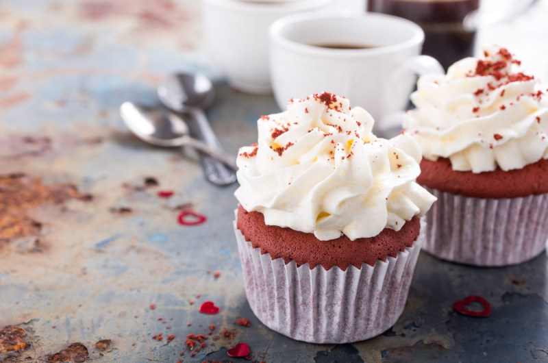Cannabis Infused Red Velvet Cupcakes