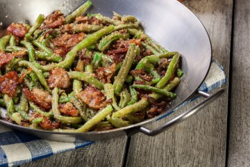 Cannabis Green Beans and Bacon