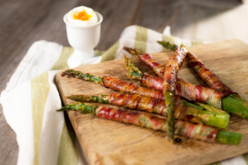 Cannabis Bacon Asparagus