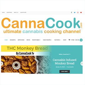 CannaCook.Tv Transitions to CannaCook.com