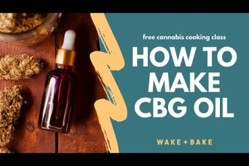 Video: Homemade CBG Oil