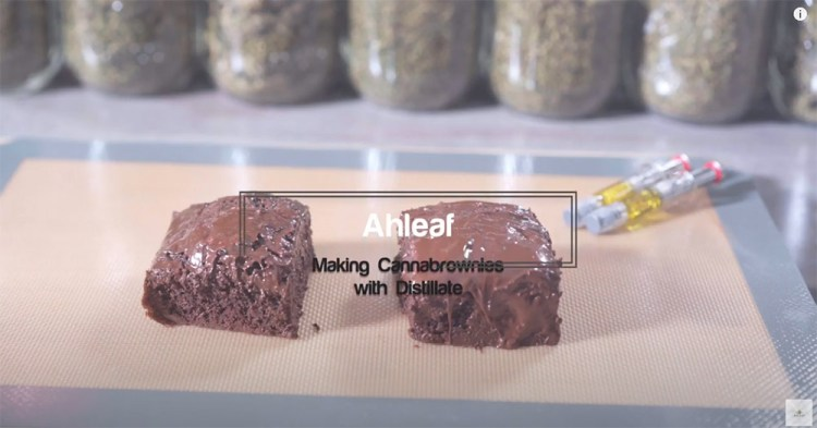 Cannabis Brownies with Distillate