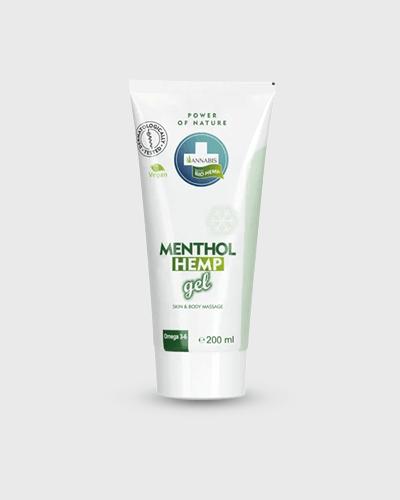 Gel Muscolare Freddo al Mentolo - Menthol Arthro Gel 200ml