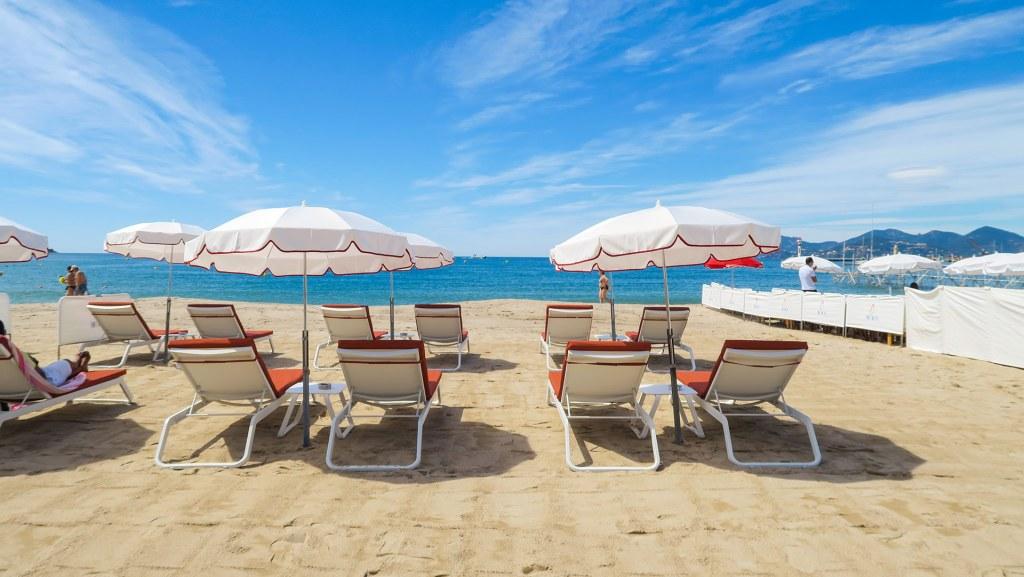transat et plage Cannes
