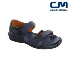 sandales ad2281 bleu marine