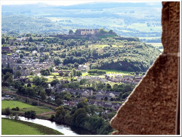 Stirling Castle from Wallace Monument