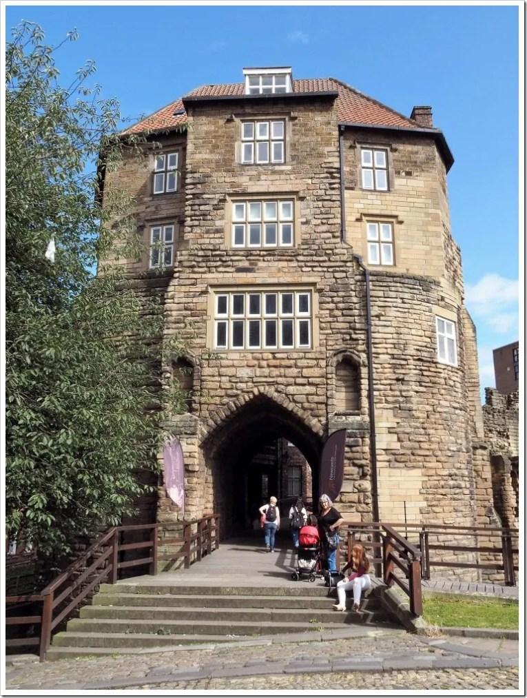 Newcastle Castle Gatehouse