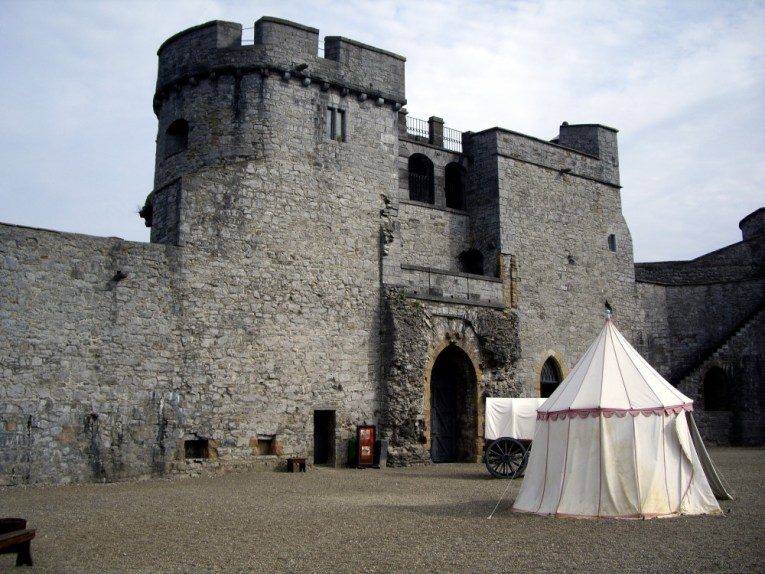 King John's Castle Courtyard