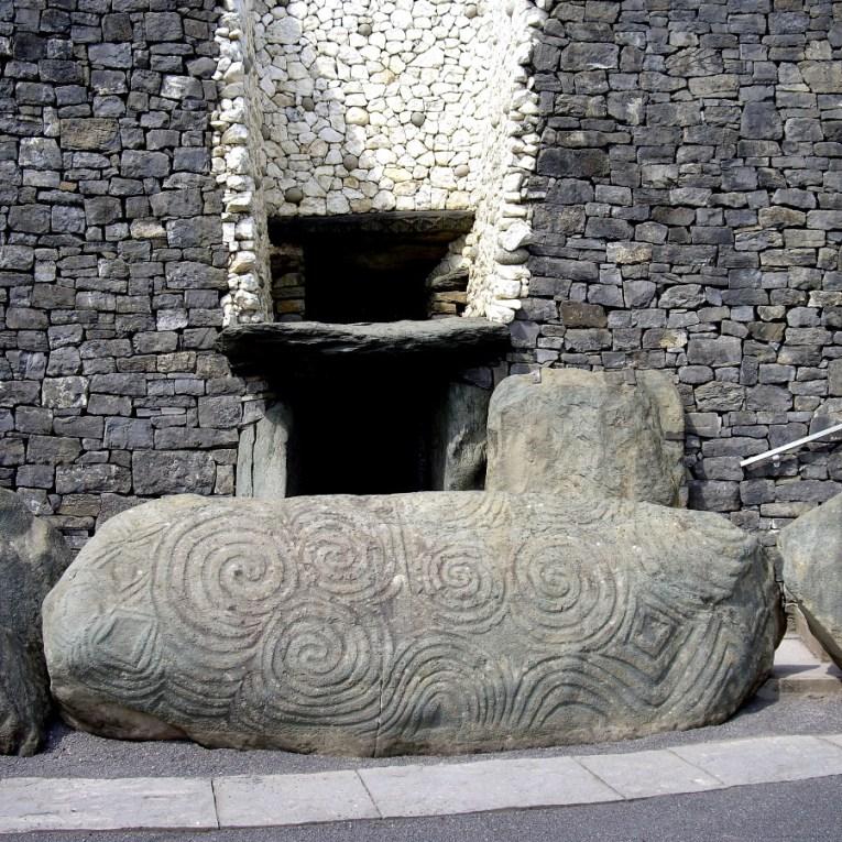 Newgrange Entrance and Entrance Stone