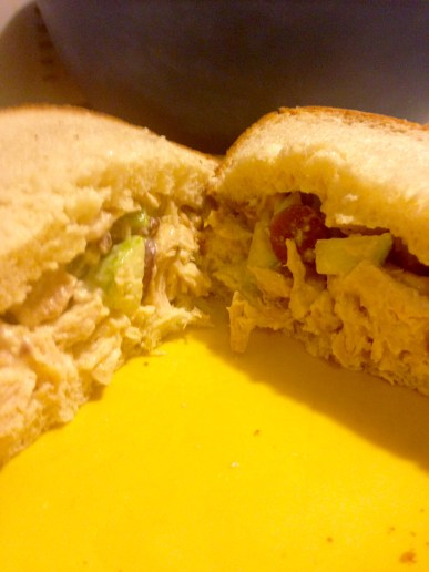 chicken salad sandwich 2