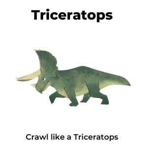 Dinosaur Movement Cards