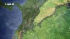 Mapa de Colombia Serranía de La Macarena
