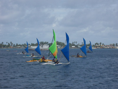 Coconut Cup 2005 - starting line