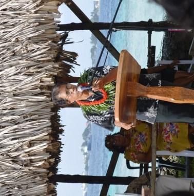 RMI National Training Council head Alison Nashon said words of encouragement to the new graduates. Photo: Cary Evarts