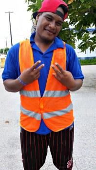 Darlson Jomomo enjoying his experience at MWSC. Photo: Tolina Tomeing