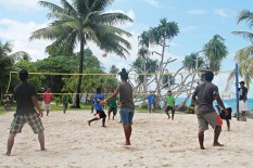 Retreat Volleyball. Photo: Isocker Anwell