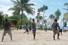 Retreat Volleyball. Photo: Isocker Anwell