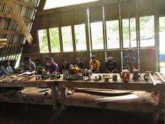 Trainees receiving tool training. Photo: Isocker Anwell