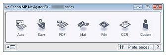 Software MP Navigator EX Ver. 5.0.4