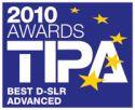 Tipa Awards 2010 - Best D-SLR Advanced: EOS 550D