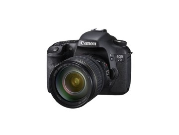 Canon 7D Side View