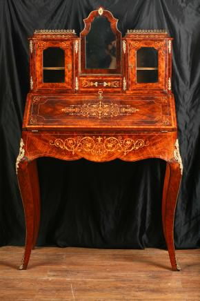 维多利亚时代的古董局服务台Bonheur大谈特谈