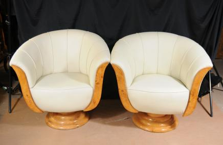 Art Deco Sofa Arm Chairs Club-Sitze