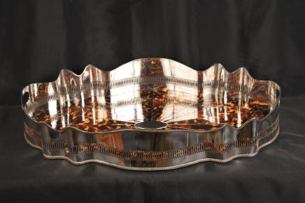 Silver Plated Butlers Tray Platter