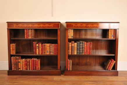 对开放喜来登摄政红木书柜