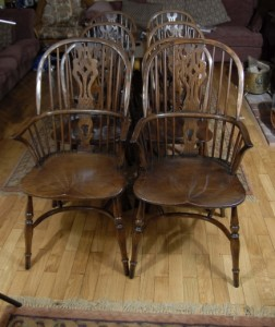 Englisch Farmhouse Windsor Dining Chairs