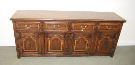 Oak Elizabethan Dresser Base Farmhouse Cupboard Cabinet Furniture