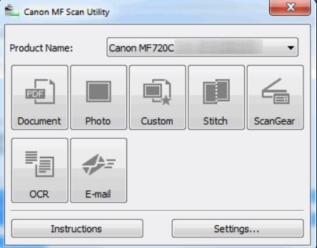 canon mf network scan utility download