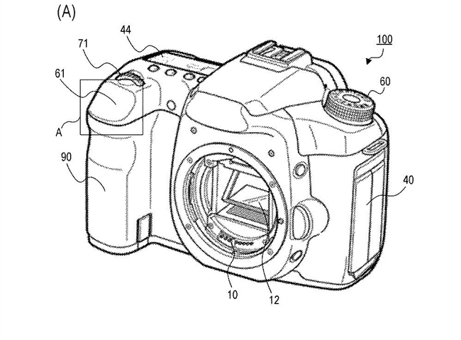 Canon Patent Application: Replacing the shutter button