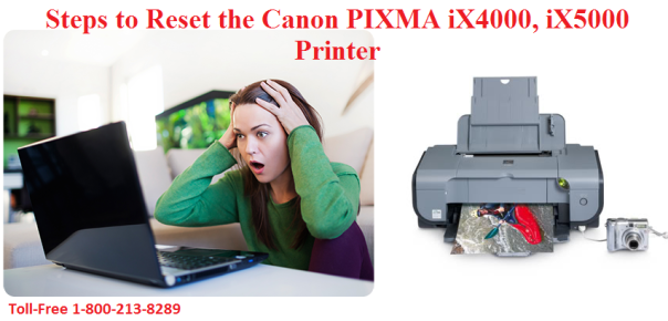 How to Reset the Canon PIXMA iX4000, iX5000 Printer