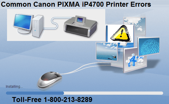 Common Canon PIXMA iP4700 Printer Errors