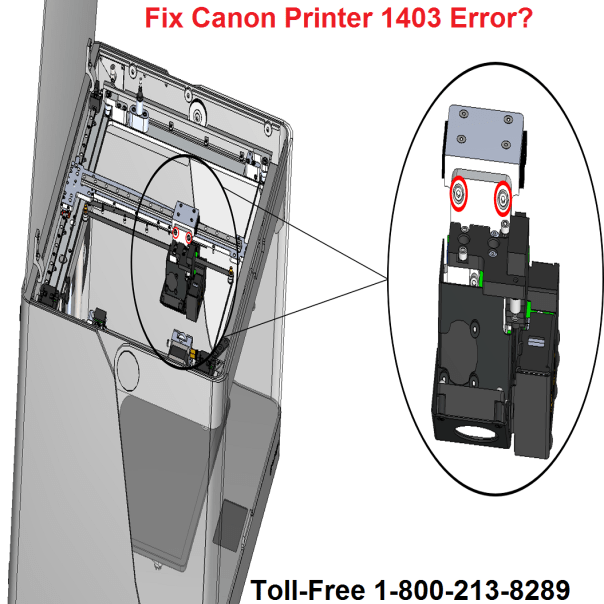 Canon Printer 1403 Error